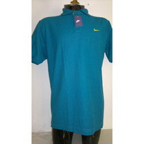 Camisa Playera Tipo Polo, Color Esmeralda Marca Nike