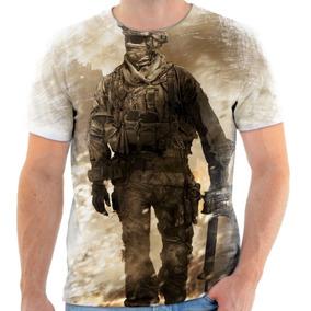 Camiseta Blusa Personalizada Call Of Duty Warfare Black Ops