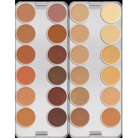 Kit Kryolan Paleta De 24 Cores K E Make Up Blend De 30 Ml