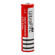 Pila Bateria 18650 Recargable Litio Tipo Ultrafire Lampara