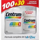 Centrum X 100 + 30 Comp De Regalo. Fcia San Pedrito - Hudson