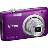 Cámara Nikon Coolpix A100 20mp Purple