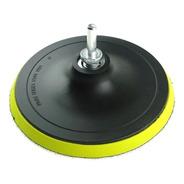 Base Lixa Disco C/ Velcro 5  M14 Esmerilhadeira E Furadeira