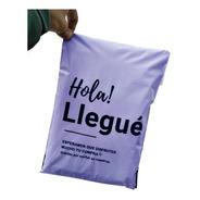 Bolsas E-commerce Inviolable 40x50 Hola Llegue Pack X50