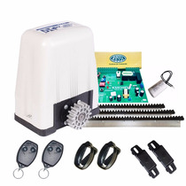 Kit Motor Deslizante Rossi Dz4 Sk Para Portão Eletrônico