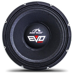 Woofer Hinor Evo Bass 12 Pol 2500w Rms 4ohms Graves E Voz