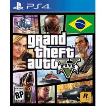 Gta 5 V Ps4 Portugues Grand Theft Auto V 5 Playstation 4