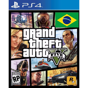 Gta 5 V Ps4 Portugues Grand Theft Auto V 5 Playstation 4