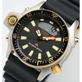 Relógio Citizen Aqualand Jp2004-07e Série Ouro Reedição C023