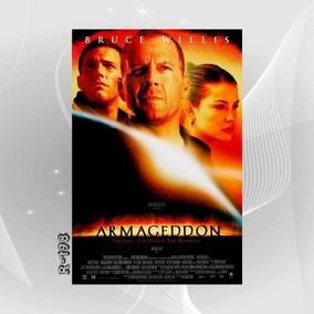 Poster Filme Bruce Wills Armageddon Saq Decoracao Wall Casa