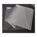 Chapa 30x30cm Acrílica Transparente Placa Espessura 2mm