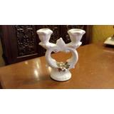 Candelabro Navideño En Ceramica