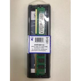Memória Ram Desktop 2gb Ddr3 1600mhz - Kingston -c/ Garantia