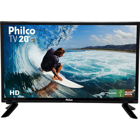 Tv 20 Polegas Led Philco Hd Conversor Digital Ptv20 Hdmi Usb