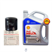 Kit Filtro Aceite Vw Suran + Aceite Shell Helix 5w40 4 Lts