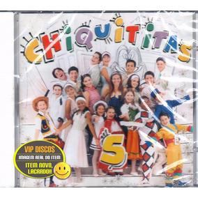 Cd Chiquititas 5 - Original Novo Lacrado!!!