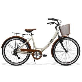 Bicicleta Feminina Gts Aro 26 Câmbio Shimano 7v - Ks Retrô