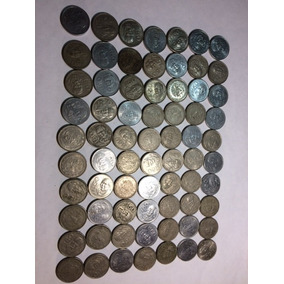 70 Monedas Mexicanas Antiguas De 50 Pesos