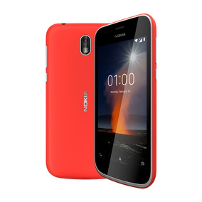 Celular Libre Nokia 1 Rojo 1gb/8gb Ampliable 128gb