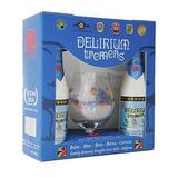 Kit Presente Cerveja Belga Delirium Tremens 2 Gfas + Copo