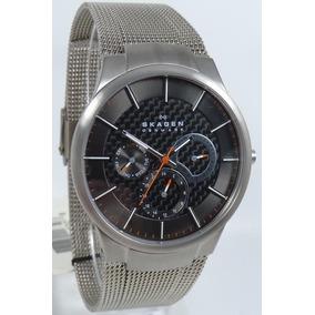 ac454fdffcd Relogio Skagen Denmark 233xlstm Titanium Outras Marcas - Relógios De ...