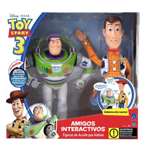 Woody Y Buzz Light Year Toy Story Interactivos 100 Frases