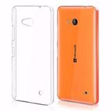 Capa Lumia 640 Tpu Flexível Top Premium+pelicula Vidro