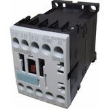 Mini Contactor 7a Bobina 24v 3kw 4cv Siemens 3rt1015-1ab01