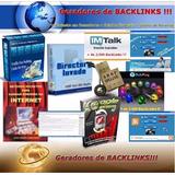 Gerador De Backlinks - Gere Milhares De Backlinks! Promocao!