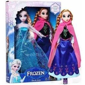 Bonecas Frozen Ana Elsa Olaf Disney Brinquedo Pronta Entrega