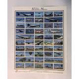 Hoja De Timbres Originales 100 Años Historia De La Aviación