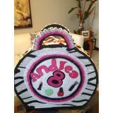 Piñata Mini Spa Y Barbie Entamborada Impresión Y Foami