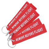 Chaveiro Remove Before Flight Bordado Aviação