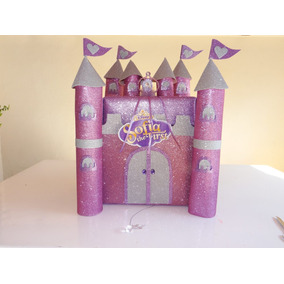 Piñata Castillo Princesa Sofia Goma Eva Reut. 46x59x40cm