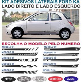 Acessorios Faixa Lateral Ford Ka G1 Adesivo Kit