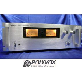 Quadro 20x30 Power Amplif. Polyvox Pm-5000 C/vidro E Moldura
