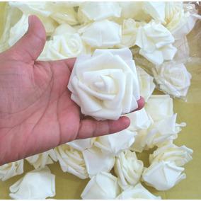 180 Flores Artificiais Rosas Grande Artificial Eva Decoração