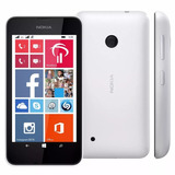 Smartphone Nokia Lumia 530 Dual Chip 4gb Branco 3g Wi Fi 5mp
