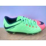 Zapatos Nike Jr Hypervenom Phelon 3 Fg Naranja / Verde Niño