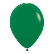 Bolsa Con 50 Globos Color Verde Selva Tamaño 9 Pulgadas