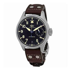 33248c668f2 Relogio Iwc Schaffhausen 801963 Maquinario Preto E Branco - Relógios ...