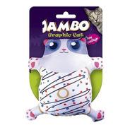 Brinquedo Para Gato Grafic Gato Cute Donut Com Catnip
