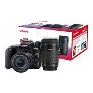 Câmera Eos Rebel Sl3 Com Ef-s 18-55mm + Ef-s 55-250mm Brasil