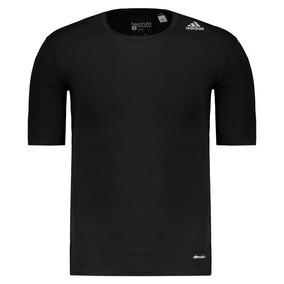 Camisa De Compressão adidas Techfit Base 80f27273cf1a2