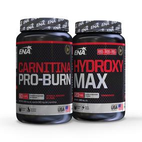 C.ena Rápido Quemador De Grasa Combo Carnitina + Hydroxy Max