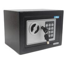 Cofre Eletrônico Digital Teclado Com Senha + 2 Chaves E17st