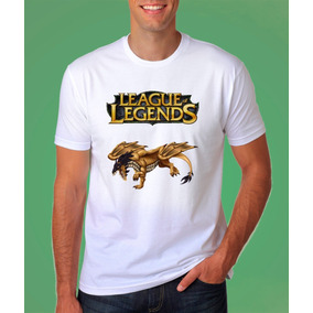 Camiseta League Of Legends Dragon