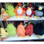 Angry Birds Set 5 Peluches Oferta Ultimos!