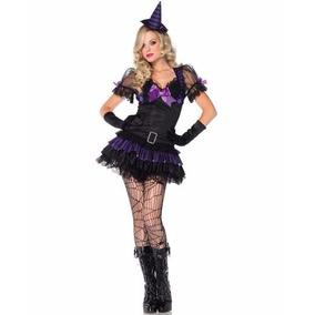 Disfraz Halloween Leg Avenue Dama Black Maga Babe Ch Med 2 P