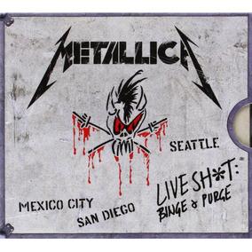 Metallica - Live Shit Binge & Purge [ 3cd + 2dvd ] Importado
